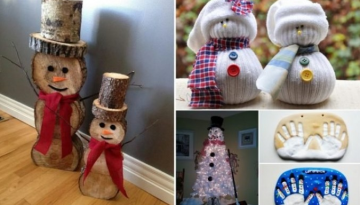 OF THE BEST DIY Homemade Christmas Decorations